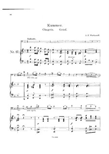 Grief: For cello and piano by Alexander Varlamov