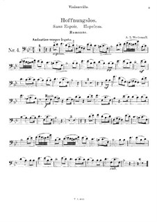 Hopeless: For cello and piano – cello part by Alexander Varlamov