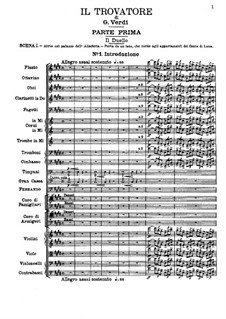 Fragments: Act I by Giuseppe Verdi