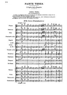 Fragments: Act III by Giuseppe Verdi