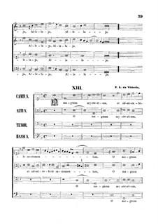 O Magnum Mysterium: Vocal score by Tomás Luis de Victoria