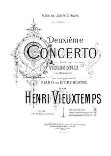 Cello Concerto No.2, Op.50: Score by Henri Vieuxtemps