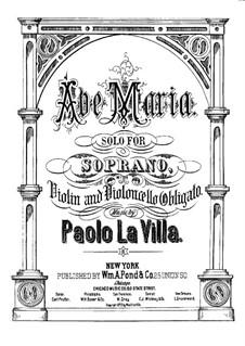 Ave Maria: Ave Maria by Paolo La Villa
