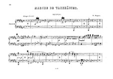 Grand March: For two pianos eight hands – piano II part by Richard Wagner