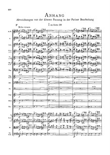 Fragments: Appendix by Richard Wagner