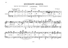 Bridal Chorus: For two pianos eight hands – piano II part by Richard Wagner