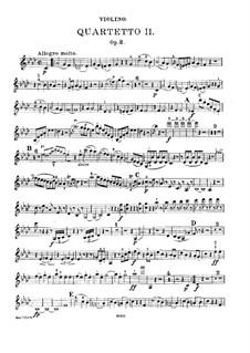 Piano Quartet No.2 in F Minor, Op.2: Parts by Felix Mendelssohn-Bartholdy
