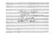 Andante and Variations for Viola and Orchestra: Viola solo part by Antonio Rolla