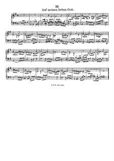 Auf meinen lieben Gott, LV 26: Auf meinen lieben Gott by Friedrich Wilhelm Zachow