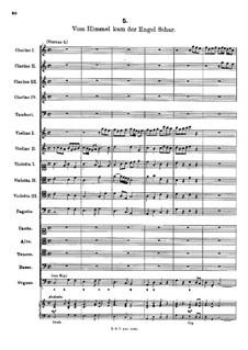 Vom Himmel kam der Engel Schar: Vom Himmel kam der Engel Schar by Friedrich Wilhelm Zachow