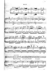 Cagliostro: Act III, piano-vocal score by Adolphe Adam