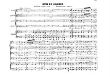 Nuit et silence. Serenade: Nuit et silence. Serenade by Louis-Alexis Raoux
