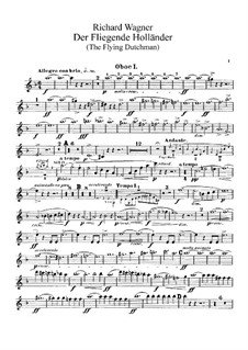 Complete Opera: Oboes parts by Richard Wagner