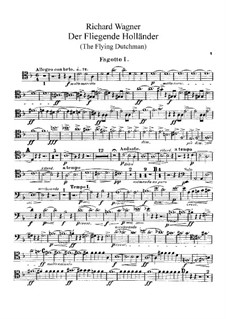 Complete Opera: Bassoons parts by Richard Wagner