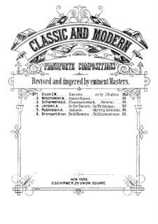 Six Fantastic Pieces, Op.50: Piece No.2 by Xaver Scharwenka
