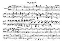 Overture to 'Paragraph 3': For piano four hands by Franz von Suppé