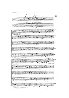 Ariane et Bacchus: Act I by Marin Marais