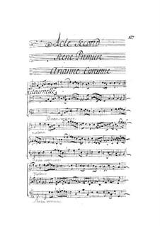 Ariane et Bacchus: Act II by Marin Marais