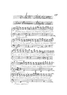 Ariane et Bacchus: Act III by Marin Marais