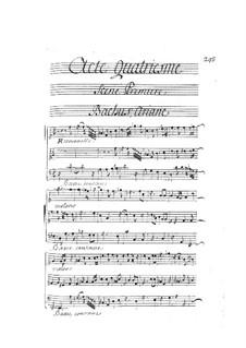Ariane et Bacchus: Act IV by Marin Marais