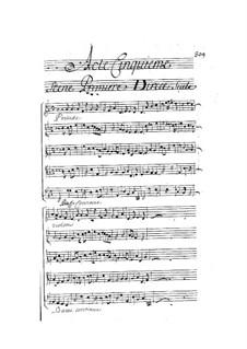 Ariane et Bacchus: Act V by Marin Marais