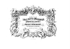 String Quartet No.12 in C Minor, D.703: Arrangement for piano four hands by Franz Schubert