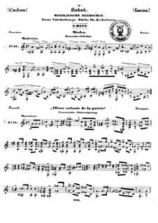 Kukuk. Musikalische Rundschau: Heft III by Johann Kaspar Mertz