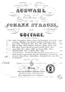 Selection of the most popular dances by Johann Strauss: Book 7 by Josef Strauss