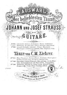 Selection of the most popular dances by Johann Strauss: Book 8 by Josef Strauss