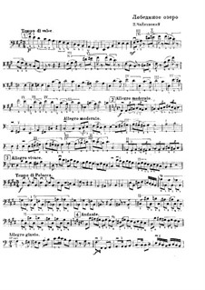 Complete Ballet: Solo from double bass part by Pyotr Tchaikovsky