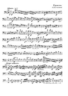 Mermaid: Excerpt from Double Bass by Alexander Dargomyzhsky