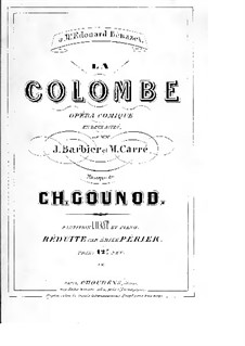 La colombe (The Dove): La colombe (The Dove) by Charles Gounod