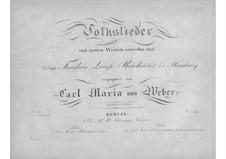 Eight Folk Songs, Op.64: Eight Folk Songs by Carl Maria von Weber