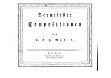 Scherzo in B Flat Major: For piano by Christopher Ernst Friedrich Weyse