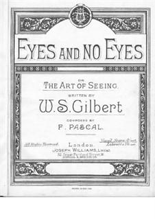 Eyes and No Eyes: Eyes and No Eyes by Joseph Williams