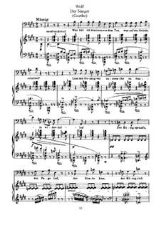 Goethe Songs: What Do I Hear Outside the Gate by Hugo Wolf