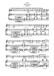 Goethe Songs: Reflection by Hugo Wolf