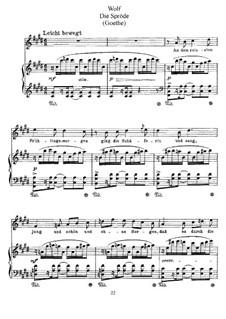 Goethe Songs: The Coy Shepherdess by Hugo Wolf