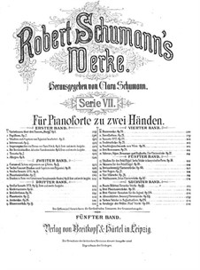 Studies in the Form of Canons, Op.56: Complete set by Robert Schumann