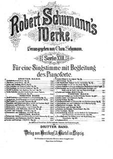 Belsazar, Op.57: Piano-vocal score by Robert Schumann
