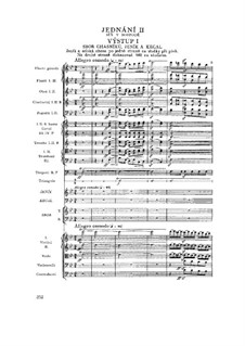Complete Opera: Act II by Bedřich Smetana