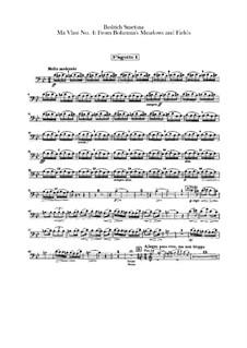 Z českých luhů a hájů (From Bohemia's Woods and Fields), T.114: Bassoons parts by Bedřich Smetana