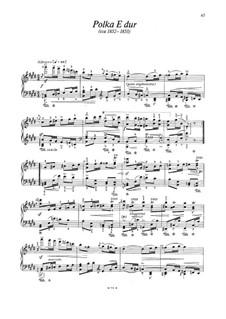 Polky z let padesátých (Polkas from the 1850s): Polky z let padesátých (Polkas from the 1850s) by Bedřich Smetana