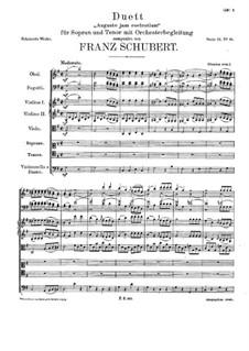 Auguste jam coelestium, D.488: Auguste jam coelestium by Franz Schubert