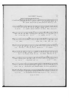 Battle Song for Double Male Choir and Piano (or Harmonium), D.912 Op.151: Bass II part (Choir I) by Franz Schubert