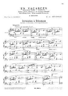 En Vacances (Holiday Time): For piano by Déodat de Séverac