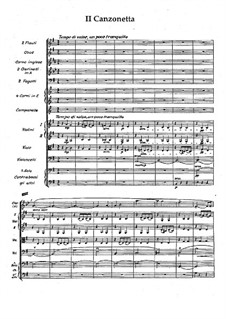 Serenade in F Major, Op.31: Canzonetta by Wilhelm Stenhammar
