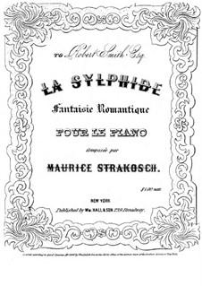 La Sylphide: La Sylphide by Maurice Strakosch