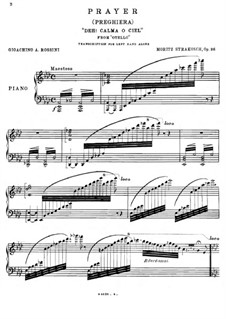 Transcription on Theme from 'Othello' by Rossini, Op.36: Transcription on Theme from 'Othello' by Rossini by Maurice Strakosch