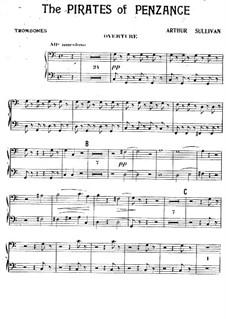 Complete Opera: Trombones part by Arthur Seymour Sullivan